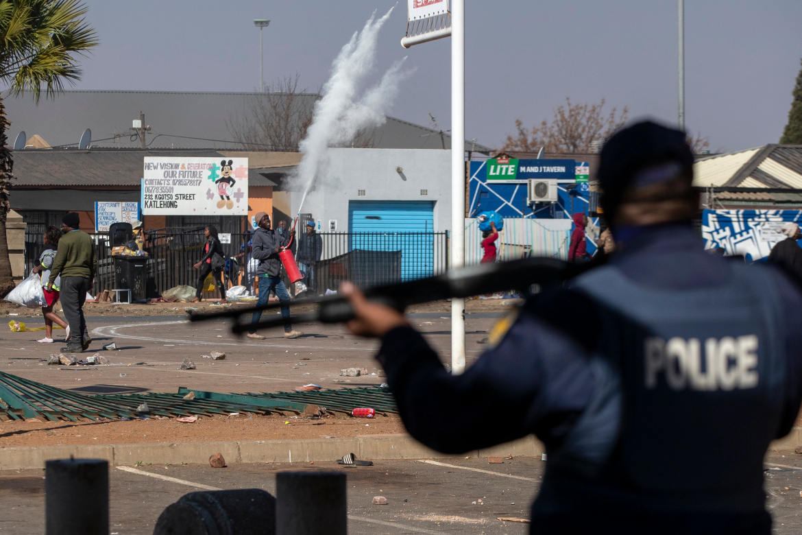 police south africa