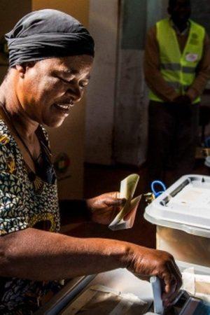 Election in Zimbabwe