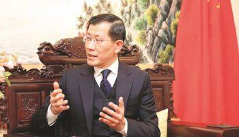 Chinese ambassador to Zimbabwe Guo Shaochun