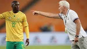 Bafana coach Hugo Broos