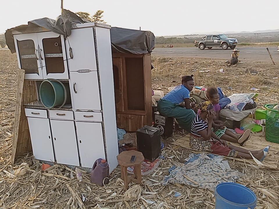 Mapunga farm residents
