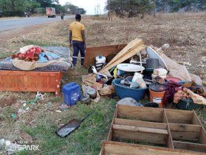 Evicted Mapunga farm residents