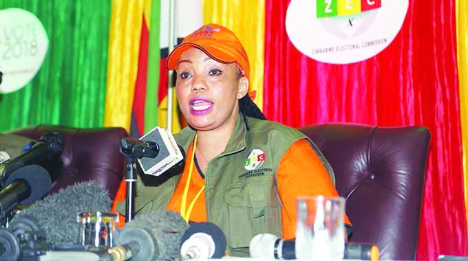 ZEC chairperson Priscilla Chigumba