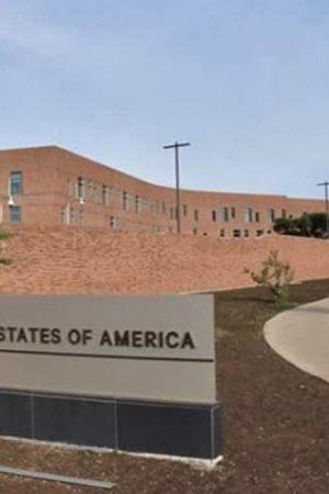 US embassy, Harare